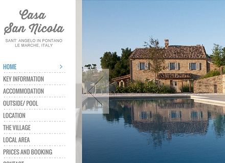italian holiday house yonyonson plymouth responsive web design